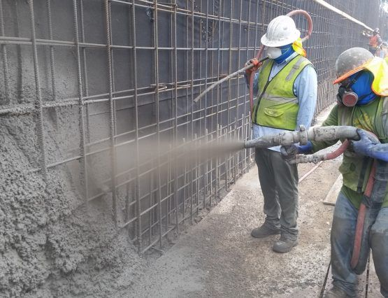 Shotcrete Structural Wall