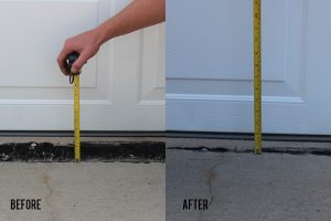 Repairing Sunken Concrete with Foam Leveling