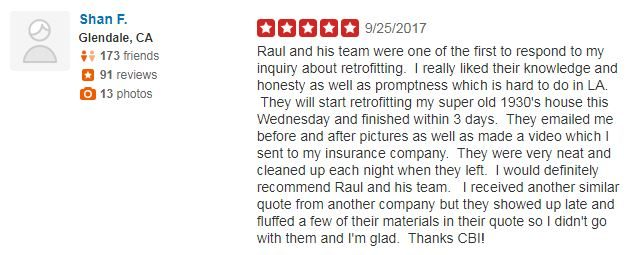 Yelp Review - Shan F.