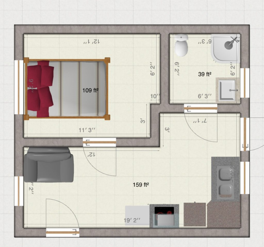 gargae-conversion-room-measurements-