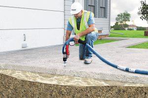 Polyurethane Foam Leveling
