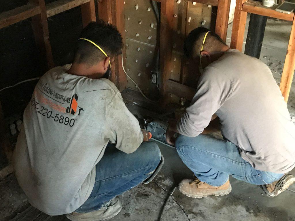 Foundation Repair Workers