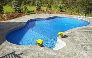 Pool Deck Repaired