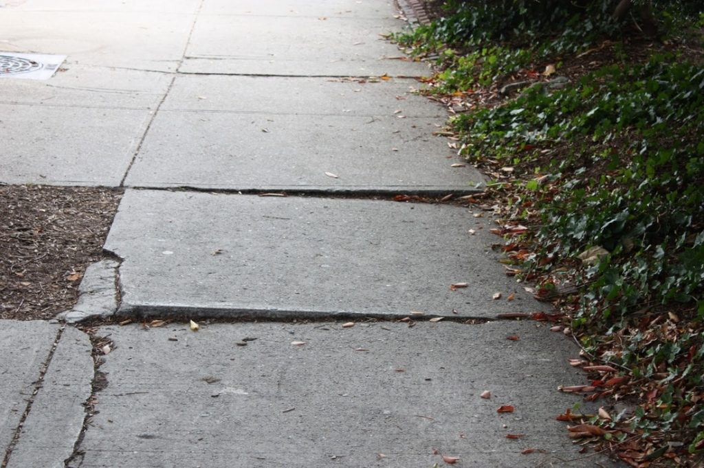 Raised Concrete Repairs | California Building Innovations