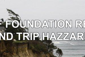 Cliff Foundation Repairs and Trip Hazards