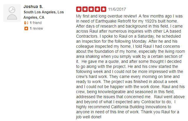 Yelp Review - Joshua S.