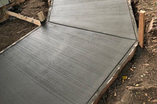 Newly Poured Concrete