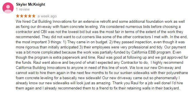 Google Review - Skyler M.