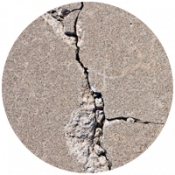 Cracked Concrete